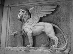 Winged Lion of Venice. One of my favorite symbols. Great picture
