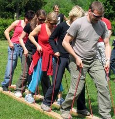 Let's go for a ride: Building a strong team through communication and determination activities.