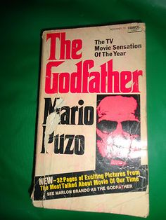 Vintage The Godfather Book 1969 Mario Puzo find me at www.dandeepop.com