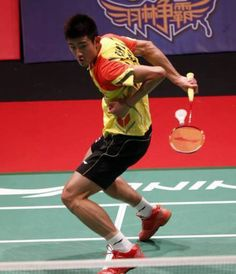 Behind the back volley! Chen Long, Badminton Tips, Athlete, Basketball Court, Health Fitness, Poses, Running, Walsall, People