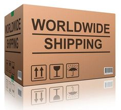 Worldwide shipping to most locations. We sell product not postage.