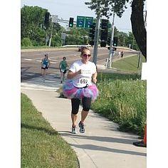 TuTu Two Mile Fun Run/Walk Fundraiser for Child Abuse Prevention at North St Paul High School North St Paul, MN. What a cute idea!!