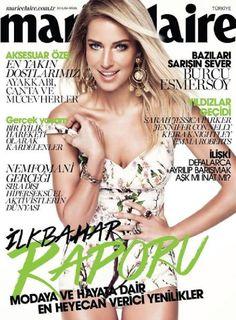 Burcu Esmersoy - Marie Claire Magazine Cover (April 2014)