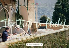 """Korean Poster for """"THE TRIP TO ITALY"""" 트립 투 이탈리아"""