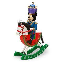 Mickey Mouse Nutcracker Rocking Horse Figure
