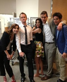 Alyson Hannigan, Neil Patrick Harris, Cobie Smulders, Jason Segel and Josh Radnor Ted Mosby, Best Tv Shows, Favorite Tv Shows, Movies And Tv Shows, Favorite Things, How I Met Your Mother, Himym Quotes, Josh Radnor, Marshall Eriksen