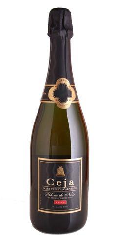 Ceja Blanc de Noir Sparkling Wine! #popchampagne