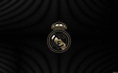 Real Madrid Gold Logo HD Wallpaper