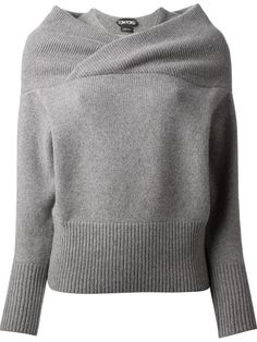 Shop Tom Ford double collar sweater in Il Bacio Di Stile from the world's best independent boutiques at farfetch.com. Over 1000 designers from 60 boutiques in one website.