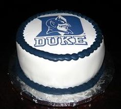 A Duke Blue Devil CAKE!!! How cool is this?!? :o)