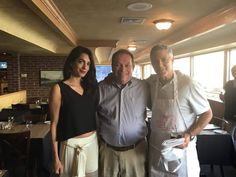 """Caproni's on the River restaurant shared some pictures with George and Amal Clooney. """"They were wonderful,"""" Lexington businessman Jerry Lundergan said Friday about a private family dinner for… Amal Clooney, George Clooney, River Restaurant, Lebanese Civil War, Romantic Breaks, Isla Fisher, Important People, Keynote Speakers"""