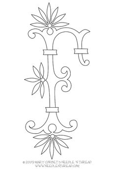 19 letter of the alphabet monograms for embroidery delicate spray d e f 20014 | f6e2004c19b358398f46efb09dd6b8b6 hand embroidery letters free monogram