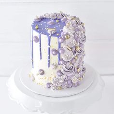 Brittany May ( Pretty Cakes, Cute Cakes, Beautiful Cakes, Amazing Cakes, Swiss Meringue Buttercream, Buttercream Cake, Frosting, Cinnabon Cake, Fantasy Cake