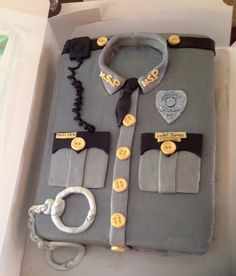 Kentucky state police cake for customer graduating from the academy