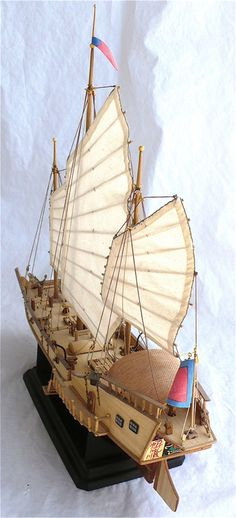 Here  are some more images of Artesania Latinas 1/60 scale Chinese Junk  Red  Dragon. These ships plied the rivers and oceans of the...