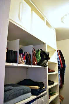 IHeart Organizing: Reader Space: A Conquered Clothing Closet!
