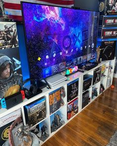 Best Gaming Setup, Gaming Room Setup, Small Game Rooms, Game Room Furniture, Geek Room, Video Game Rooms, Game Room Design, Game Room Decor, Cinema Room