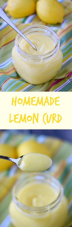Homemade Lemon Curd is a sweet and tart treat that is is perfect as a filling, or as a spread for your morning toast | cookingwithcurls.com