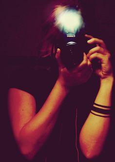 Photographie. Tattoo Stripes.