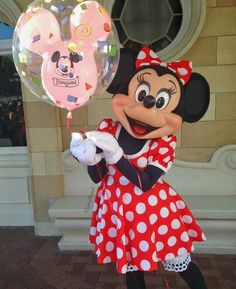 Sweet Minnie Mouse.