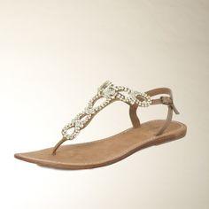 Sandale | camel - Schuhe