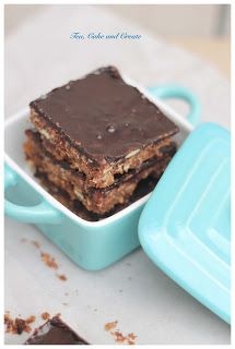 A different take on South African chocolate crunchies