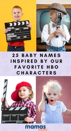 From The Sopranos to Game of Thrones, here are baby names inspired by our favorite HBO shows.