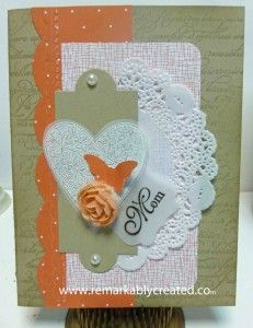 Best of Love - part of new monthly series from Stampin'UP! for their 24th anniversary.