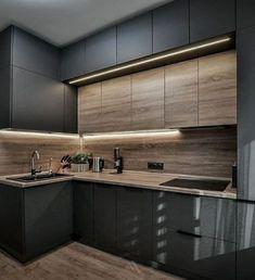 Kitchen Room Design, Kitchen Cabinet Design, Modern Kitchen Design, Kitchen Layout, Home Decor Kitchen, Interior Design Kitchen, Kitchen Furniture, Kitchen Ideas, Kitchen Designs