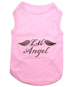 Parisian Pet Lil Angel Dog T-Shirt, XX-Small, Pink: Its dog apparel with attitude! Our Doggie T-Shirts feature a fun embroidered message. Excellent gift for dogs and dog lovers. Dog Hoodie, Dog Shirt, Oakley, Whimsical Fashion, Dog Diapers, Pink Dog, Dog Costumes, Sphynx, Dog Harness
