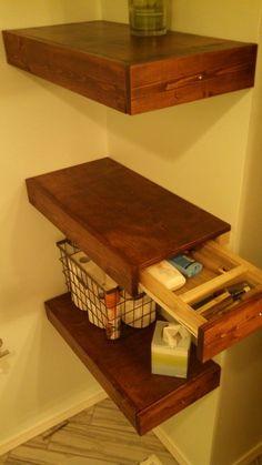 DIY floating shelves with drawers. - Shelf Bookcase - Ideas of Shelf Bookcase - DIY floating shelves with drawers. DIY floating shelves with drawers. - Shelf Bookcase - Ideas of Shelf Bookcase - DIY floating shelves with drawers.
