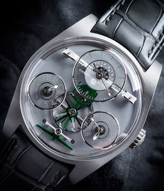 "Emmanuel Bouchet Complication One Ahmed Seddiqi & Sons Boutique Edition Watch - by Kenny Yeo - More on this special edition piece at: aBlogtoWatch.com - ""Emmanuel Bouchet is one of the youngest independent watch brands, having only released its first timepiece, the Complication One, in 2015. However, its founder, Emmanuel Bouchet, is no stranger to watchmaking and high horology. For readers familiar with Harry Winston's epic Opus series..."""