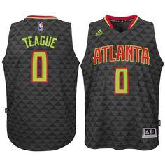 Jeff Teague Atlanta Hawks Youth Swingman Basketball Jersey - Black 5878de8cf