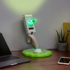 This Rick and Morty Portal Gun Light looks like Rick is about to climb out through the portal into your dimension, likely with Morty in tow. It features 6 Rick And Morty Merch, Rick I Morty, Rick And Morty Poster, Rick And Morty Season, Rick And Morty Tattoo, Zelda Master Sword, Rick And Morty Characters, Ricky And Morty, Just In Case