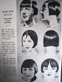 Vintage hair! 1936 barber's ad.