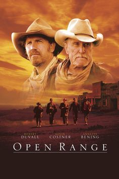 Open Range is a 2003 American Western film directed and co-produced by Kevin Costner, starring Robert Duvall and Costner, with Annette Bening and Michael Gambon appearing in supporting roles. The film was the final on-screen appearance of Michael Jeter, who died before it was released, and the film was dedicated to Jeter's memory, and to that of Costner's parents, Bill and Sharon.