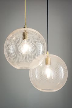 Cane Pendant Light by KEEP