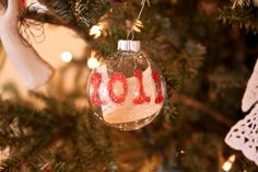 Make a Time Capsule Christmas Ornament--LOVE this idea.  Going to put it to use ASAP/
