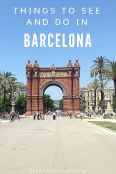 Visiting Barcelona? Discover the essential things to see and do in this vibrant city on the Mediterranean Sea. You'll learn what to do, where to eat, where to stay and much more. https://www.holidaystoeurope.com.au/home/european-destinations/spain/903-things-to-see-and-do-in-barcelona