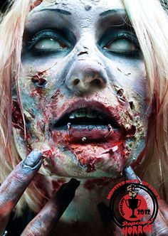 awesome halloween zombie fx make up - Halloween Effects Makeup