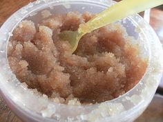 Brown Sugar and Epsom Salt body scrub