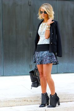 Courtney Kerr from What Courtney Wore featuring BCBG