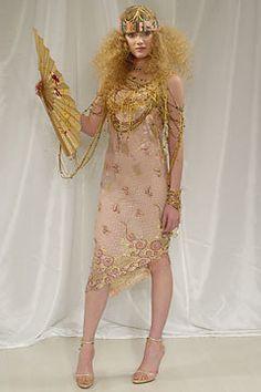 Ungaro Couture Spring 2004 Couture Fashion Show - Emanuel Ungaro, Lily Donaldson