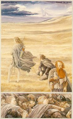 alan_lee_the lord of the rings_ii-3-02_the riders of rohan.jpg 628×1,014 pixels