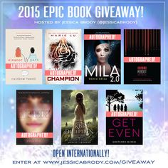 @Jessicabrody is kicking off 2015 right, witha huge book giveaway! Click through to win!