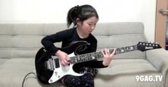 Guitar goddess