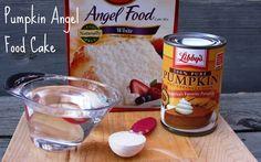 Me and My Pink Mixer: Pumpkin Angel Food Cake