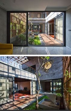 Rustic Exterior and Sleek Finish Interior