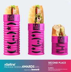 The Dieline Pacakge Design Awards 2013: Student, 2nd Place - Eat & Go - The Dieline -