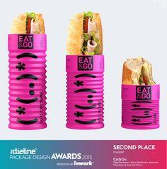 Eat & Go - Sandwich #Packaging PD